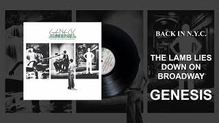 Genesis - Back In NYC (Official Audio)