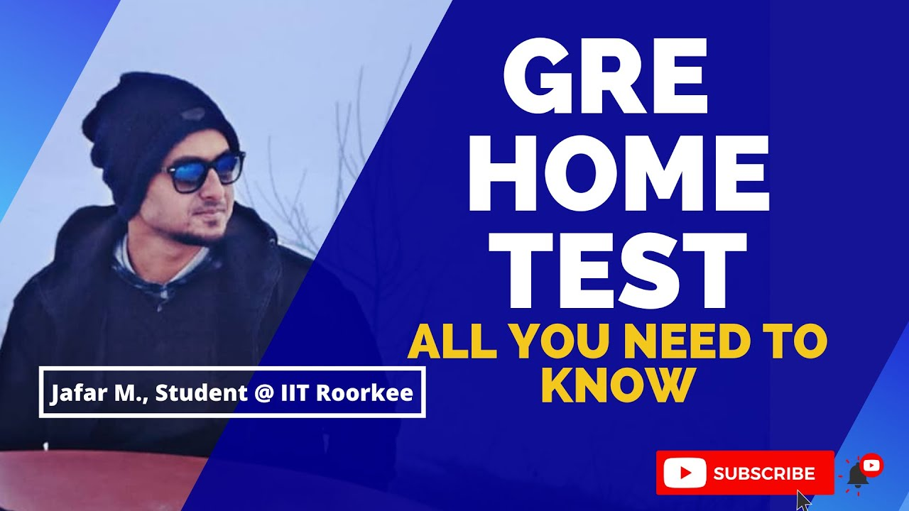 Take GRE 2020 Test From HOME | All you need to know | New Update | No need to go to the exam center.