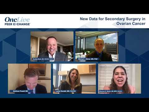 New Data For Secondary Surgery In Ovarian Cancer Youtube