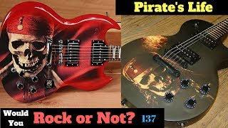 Captain Jack Sparrow | Epiphone Pirates of the Caribbean Les Paul SG | Would You Rock Or Not? Ep 137