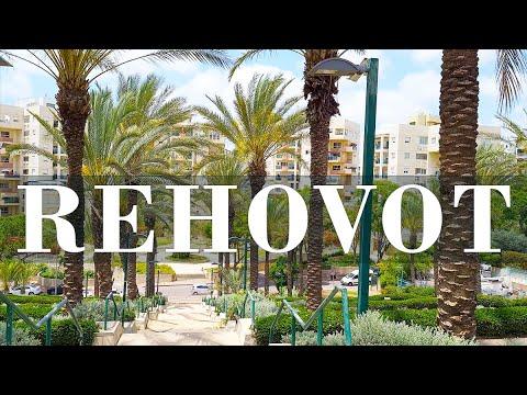 Israel, Walking In Sleeping Area Of Rehovot
