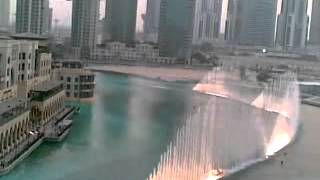 Burj  Khalifa Dubai  Fountain With Hindi Remix Song