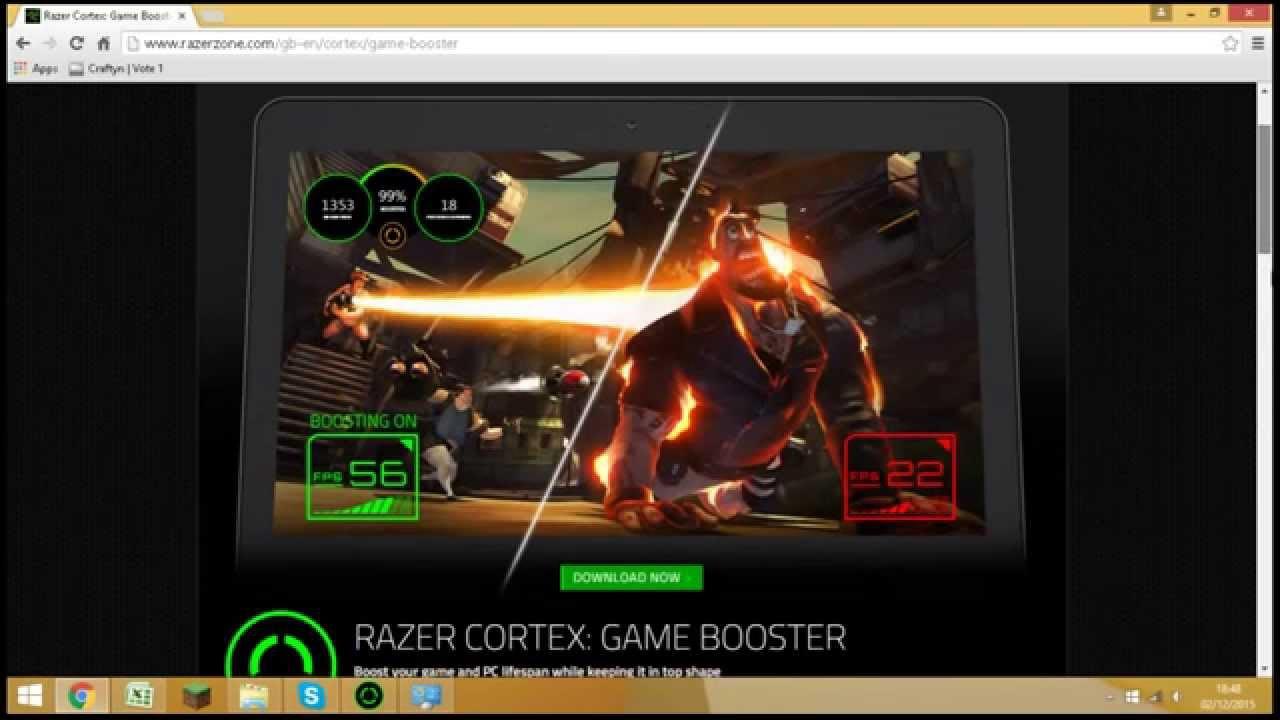 Razer cortex boost cs go | Razer Cortex Game Booster Free Download
