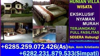 Villa Songgoriti, Homestay In Indonesia, Hotel Malang, +6282 231 879 533