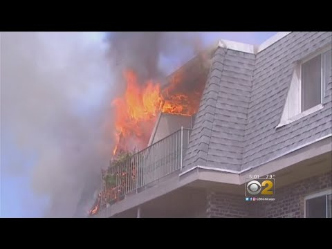 3 Injured In Prospect Heights Condo Complex Fire