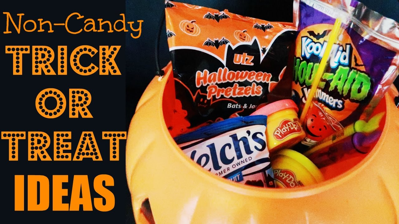 14 non candy trick or treating ideas for halloween youtube - Halloween Trick Ideas