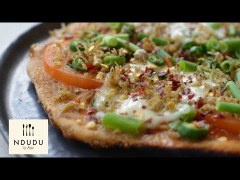 THE GHANAIAN ONE MOUTH THOUSAND PIZZA RECIPE