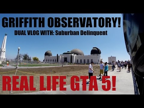 TOP SECRET Griffith Observatory FACTS & TOUR + Hollywood Dual Vlog W/ Suburban Delinquent
