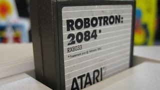 Classic Game Room - ROBOTRON 2084 review for Atari Computer