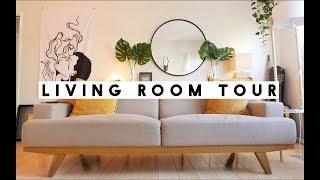 LIVING ROOM TOUR   IAMKARENO