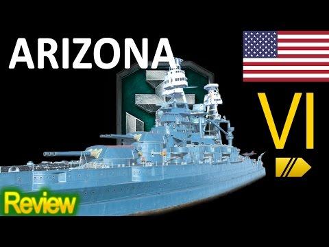 World Of Warships - Arizona - Review