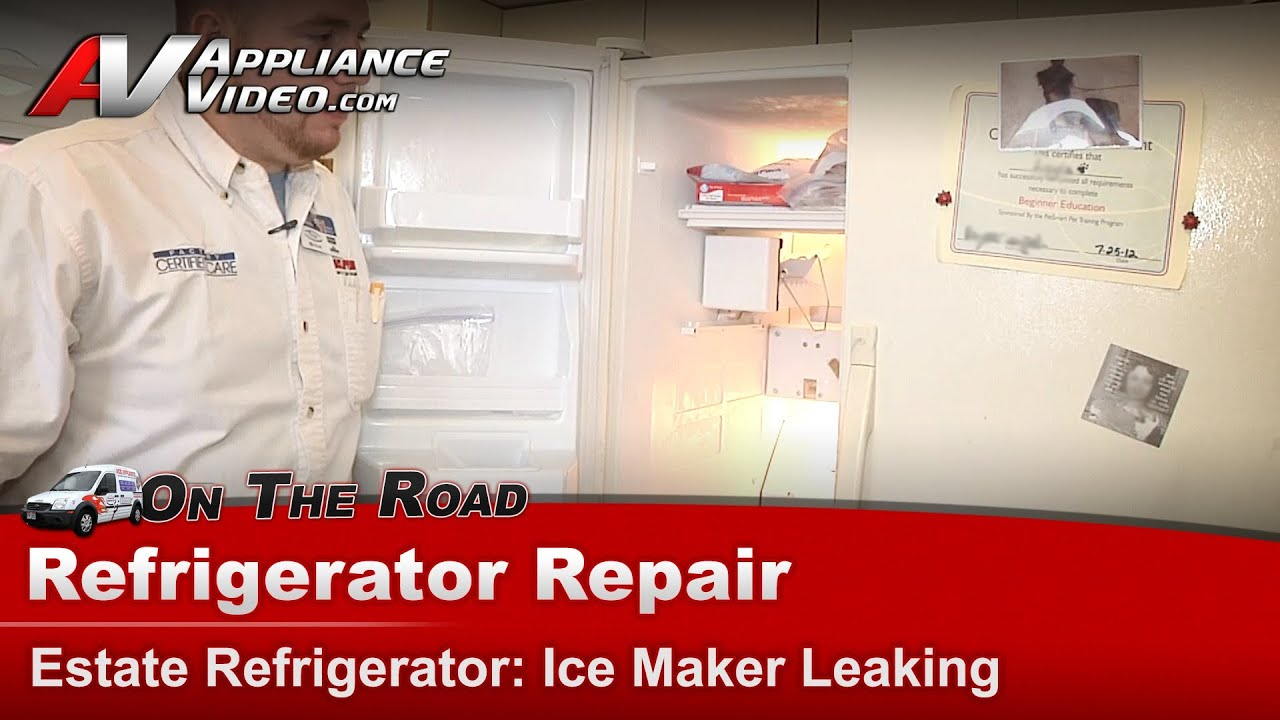 Whirlpool Estate Refrigerator Repair Ice Maker Is