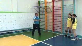 Тренировка по волейболу Войнич МАОУ СОШ 15
