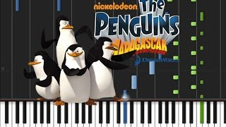 The Penguins of Madagascar - Main Theme [Piano Tutorial] (♫)