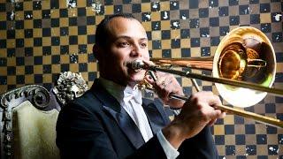 Aspiración definir trombones la de