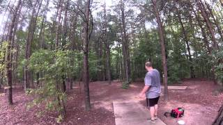 disc golf lat 64 river and westside tursas practice
