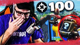 THE SECRET OF 100 KILLS WITH THE NEW SAC A DOS FORTNITE !!!