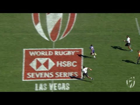 Baker scores one of the best tries ever in rugby sevens