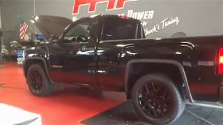 2018 5.3 GMC Sierra Whipple Supercharged - Dyno Results