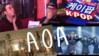 AOA Excuse Me & Bing Bing(빙빙) MV REACTION #FANBOYS