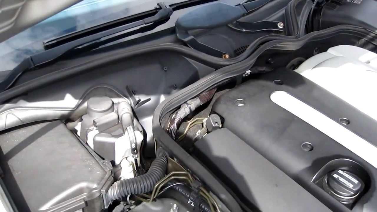 Mercedes W211 Heater Valve Replacement (E Class) E320CDI RHD  YouTube
