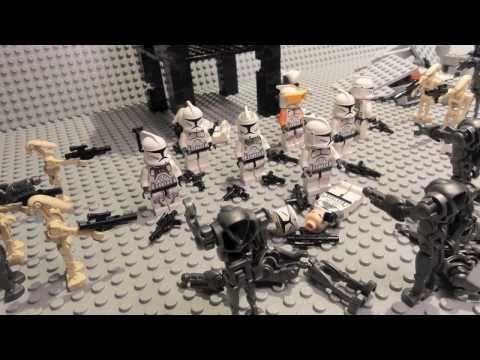 LEGO Star Wars Battle of Mygeeto (Brick film)