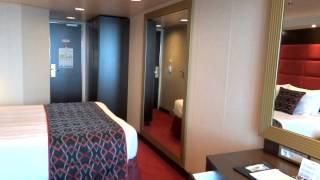Video of MSC Cruise Line MSC Preziosa Cruise Ship Balcony Stateroom...