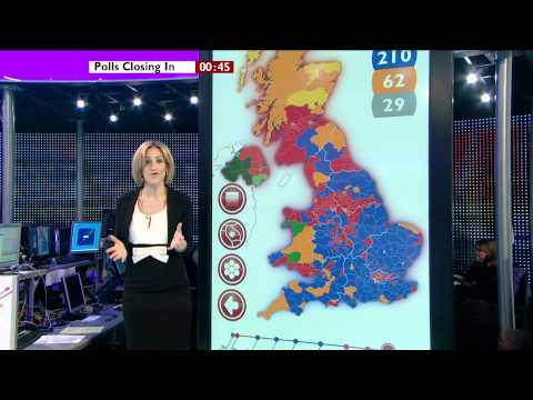 BBC Election 2010 opening sequence - HD