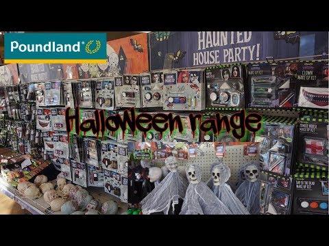 POUNDLAND | HALLOWEEN RANGE 2018