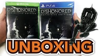 Dishonored Definitive Edition (PS4 /Xbox One) Unboxing !!