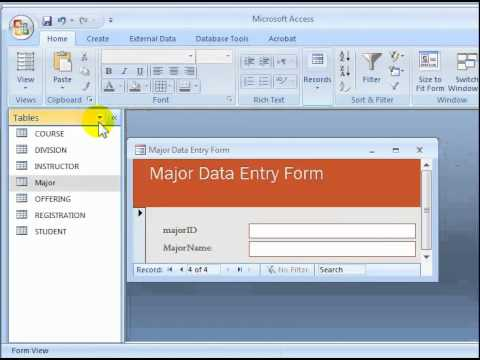 how to use microsoft access 2010 for beginners