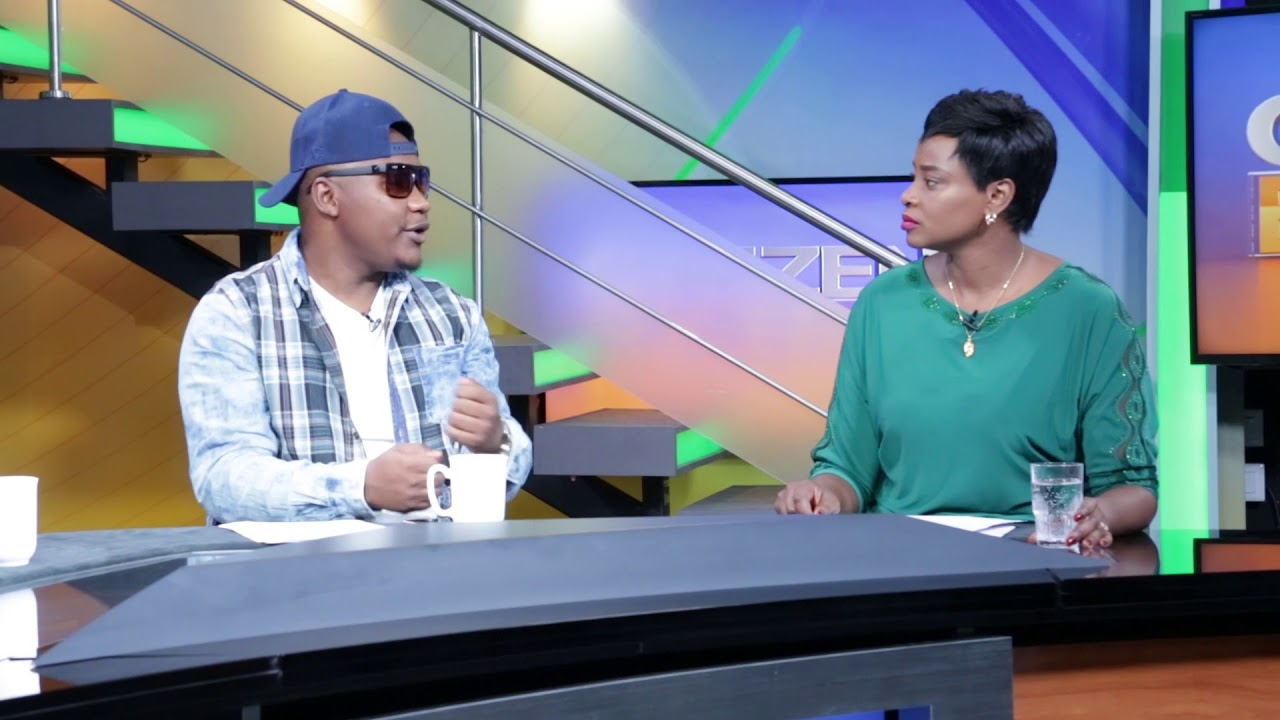 Lil Ommy ndani ya CITIZEN TV Nairobi, Kenya (RAW VIDEO)