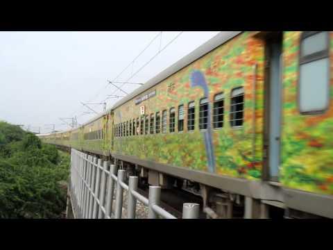 Amritsar - Chandigarh Superfast Express with GZB WAP-5 30034