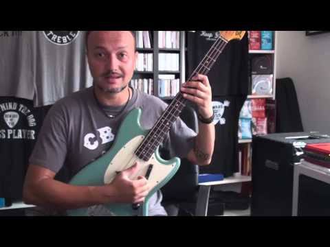 Download Youtube: Lezioni di Basso Elettrico - Suonare il basso di Bill Wyman dei Rolling Stones (Lez.80)