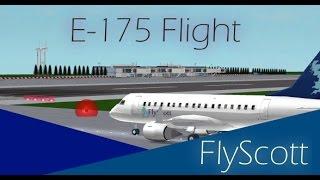 ROBLOX Flights   FlyScott E-175 Flight