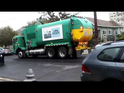 Los Angeles Bureau of Sanitation Trucks - April 3rd & 8th, 2016