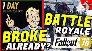 Fallout 76 Note To Fans! It