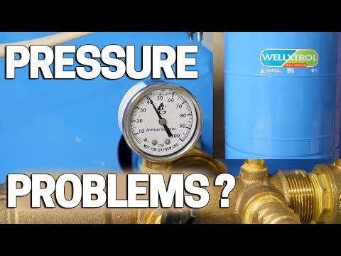 Low Water Pressure - Well Pump Problems? Check This First