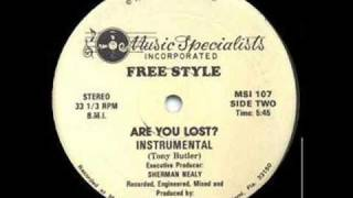 Freestyle - Are You Lost (Instrumental)