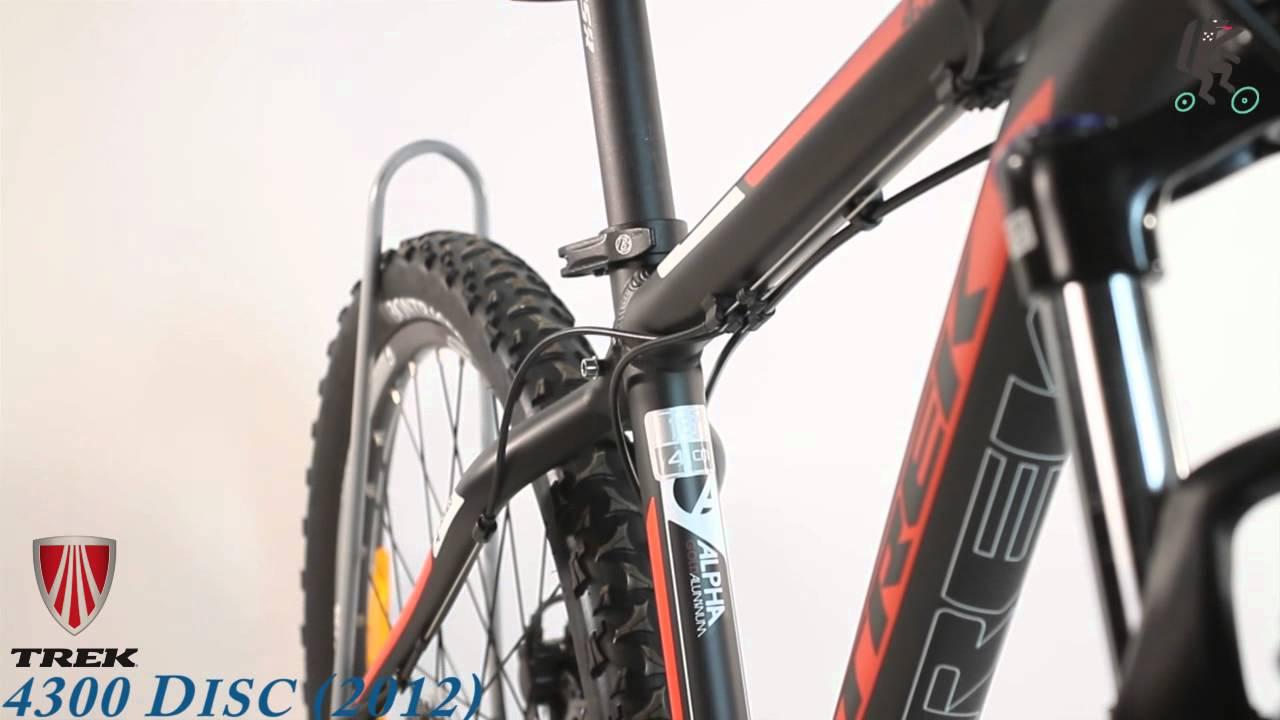 0b0ff10f7c6 Обзор велосипеда TREK 4300 DISC (2012) - YouTube