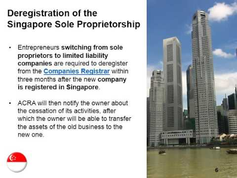 Changing a Sole Proprietorship to a LLC in Singapore