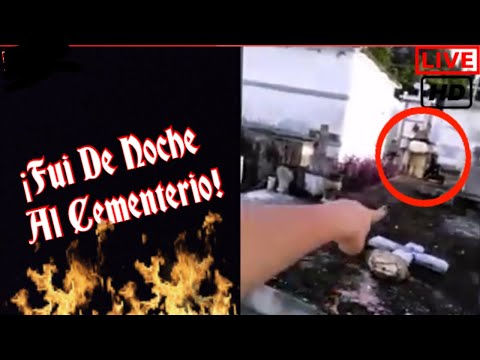 Fui De Noche Al Cementerio y Esto Pasó | Viernes De Terror #1