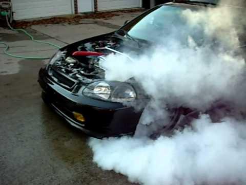 Bad Ass Civic Burnout Civic!!!