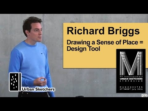 Drawing a Sense of Place = Design Tool - Richard Briggs