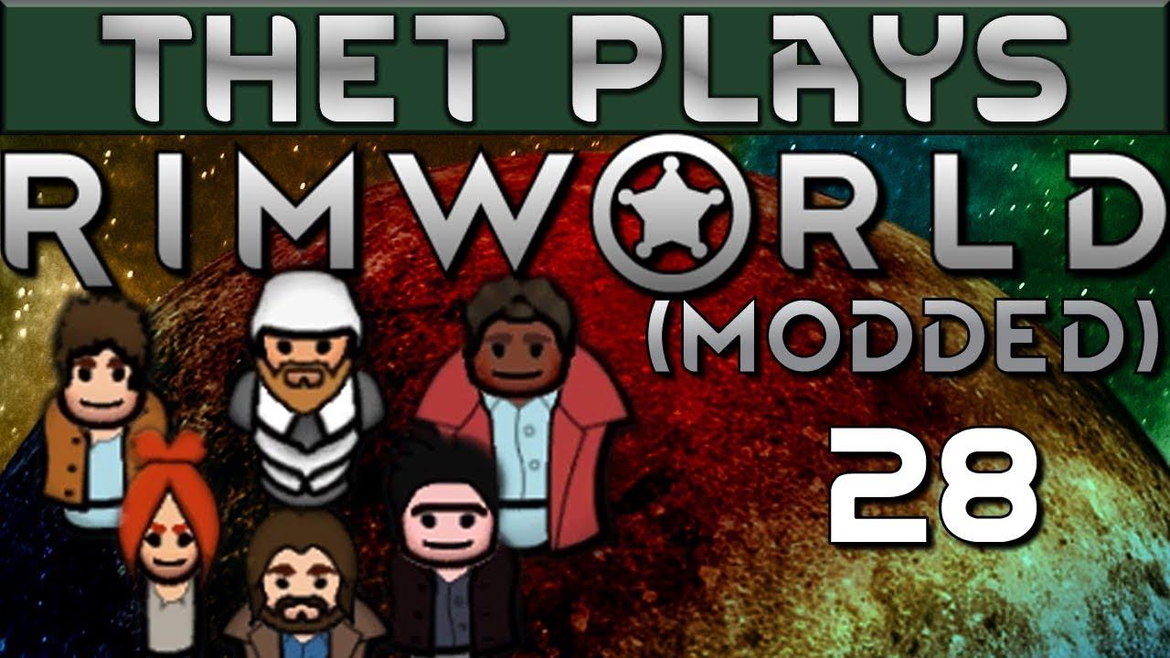 Thet Plays Rimworld 1 0 Part 28: Elephant Revenge [Modded