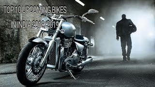 TOP 10 UPCOMING BIKES IN INDIA 2018/2019