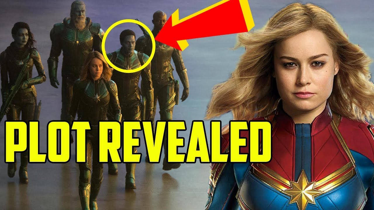 captain marvel: every new plot reveal - youtube