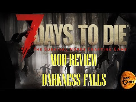 Darkness Falls - Mod Review - 7 days to die