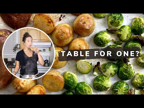 thanksgiving-dinner-for-one-or-two!- -how-to-make-turkey-dinner-for-an-intimate-cozy-night-in