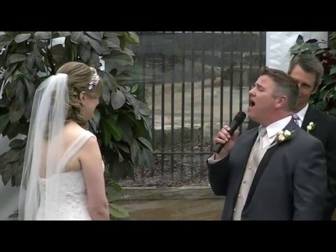 When You Love a Woman - Guy sings to His Bride (Journey cover)